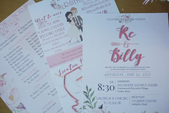 Wawies and their wedding invitations part 1 weddings at work stopboris Choice Image